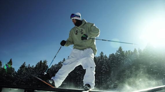 Bobby Brown Skier Under Armour