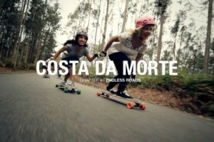 Endless Roads 4 - Costa Da Morte - Longboard Girls Crew !