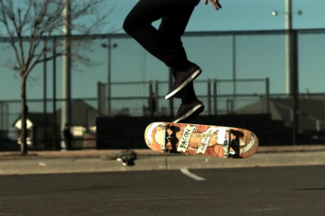 WTF flat ground tricks (1000 fps slow motion)