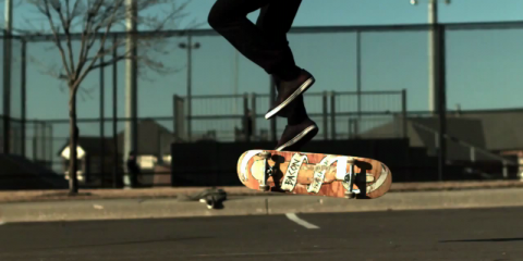 WTF flat ground tricks (1000 fps slow motion)