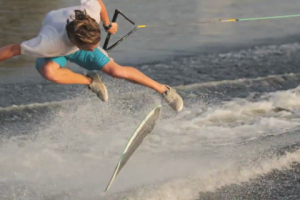 Andrew Fortenberry Wakeskating