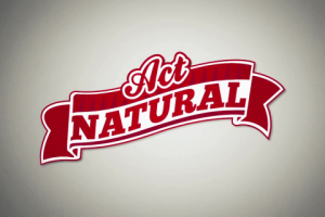 act natural logo
