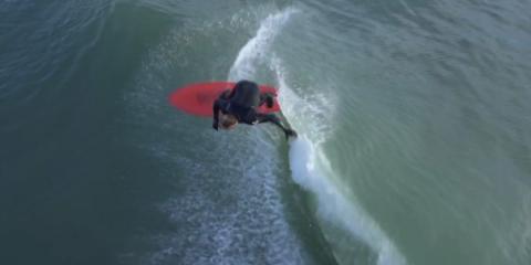Drone surfing in La Tranche sur mer2