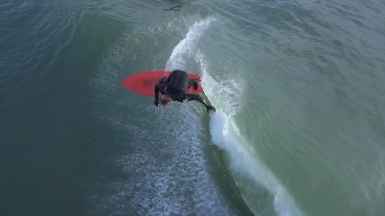 Drone surfing la tranche sur mer videos surf for Drone surf fishing