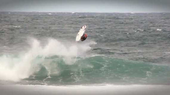 Yago Dora - Backflip a Rocky Point Hawaii