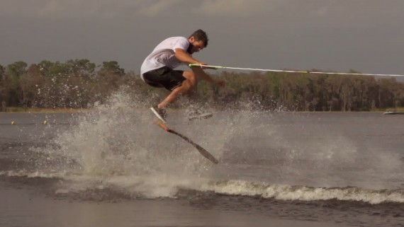 Pickett lake wakeskate slowmotion