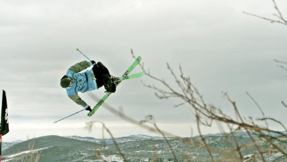Park Skiing in SlowMotion by Slow Motion Films on the Phantom Miro LC320S-2