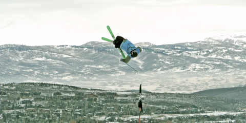 Park Skiing in SlowMotion by Slow Motion Films on the Phantom Miro LC320S