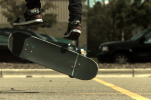 WTF skateboarding tricks part 2 600fps slow motion)