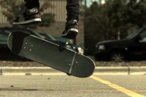 WTF skateboarding tricks part 2 600fps slow motion)