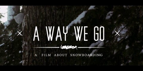 "ISENSEVEN ""A WAY WE GO"" TRAILER 2013"