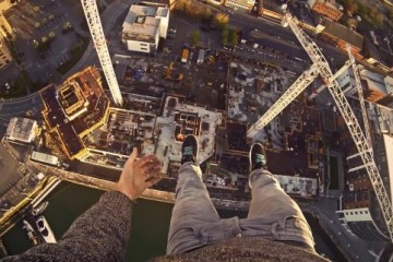 POV Crane Climb in Southampton, UK with James Kingston - GoPro
