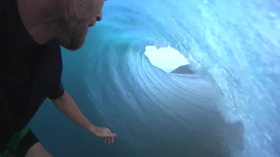 SONY Action Cam Teahupo'o