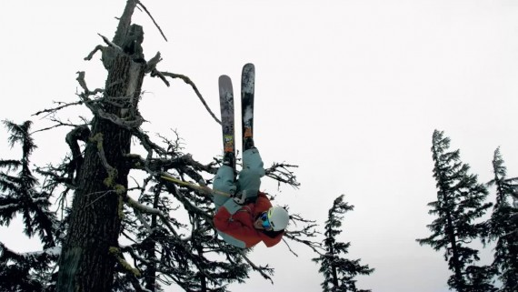 Ski Tree Stomping_by Slow Motion Films 2