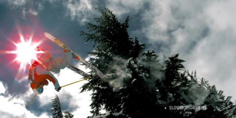 Ski Tree Stomping_by Slow Motion Films