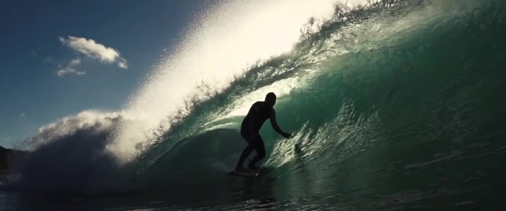 Surf high speed reel by Tom Jennings surf slowmo