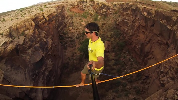 Extreme Highlining - Insane Heights David Graham