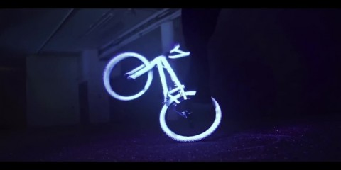 Glow in the Dark BMX neon love