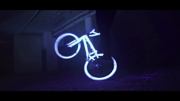 Glow in the Dark BMX neon love