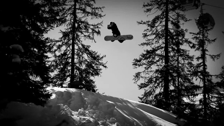 Luma snowboard video2