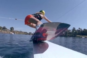 GoPro-Wakeboarding with Melissa Colborne