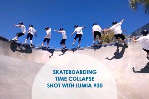 Skateboarding Time Collapse by Cy Kuckenbaker
