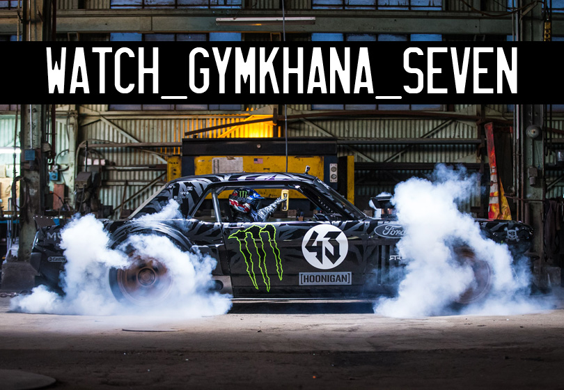 KEN BLOCK'S GYMKHANA SEVEN- WILD IN THE STREETS OF LOS ANGELES background