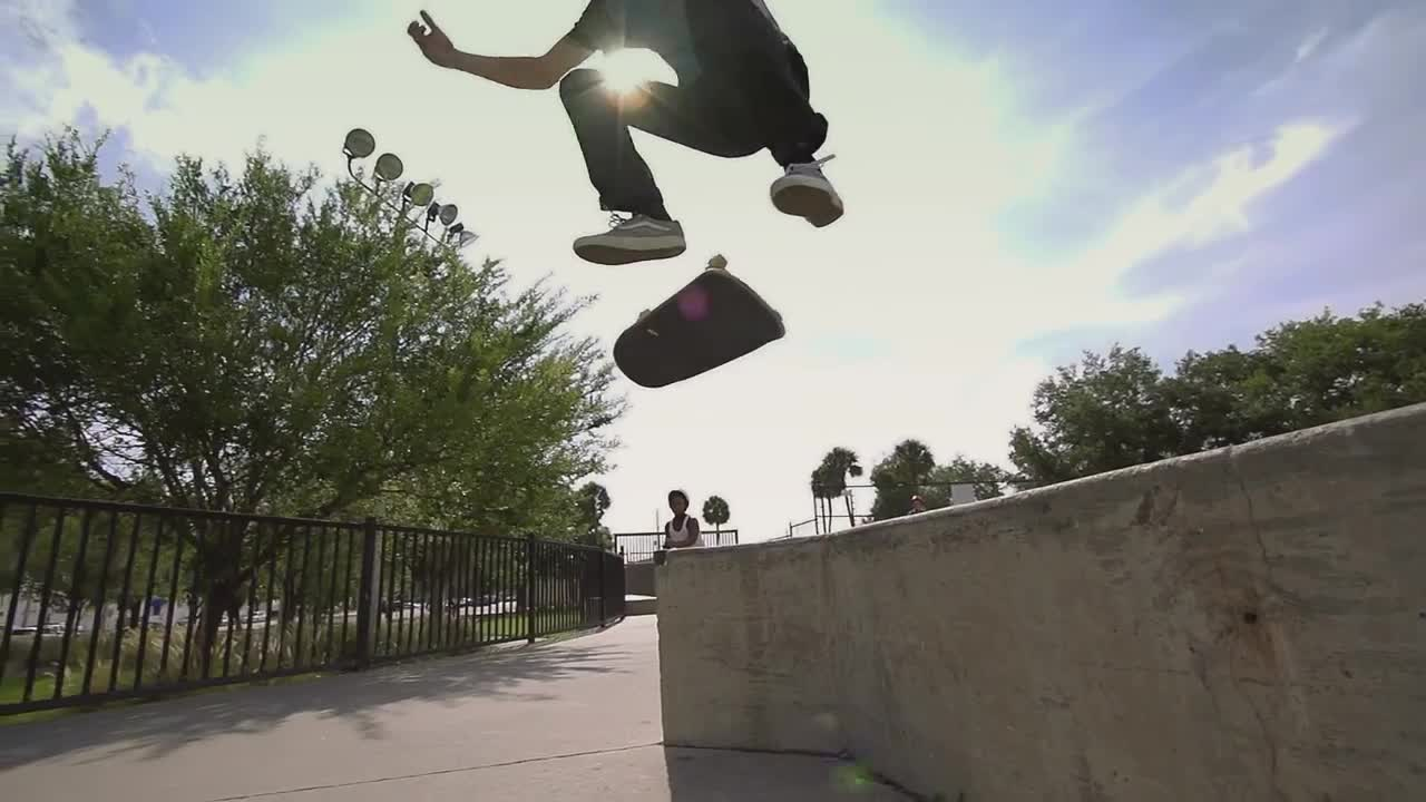 Super Slow Motion Skateboarding - In A Flash by No Anchor skate