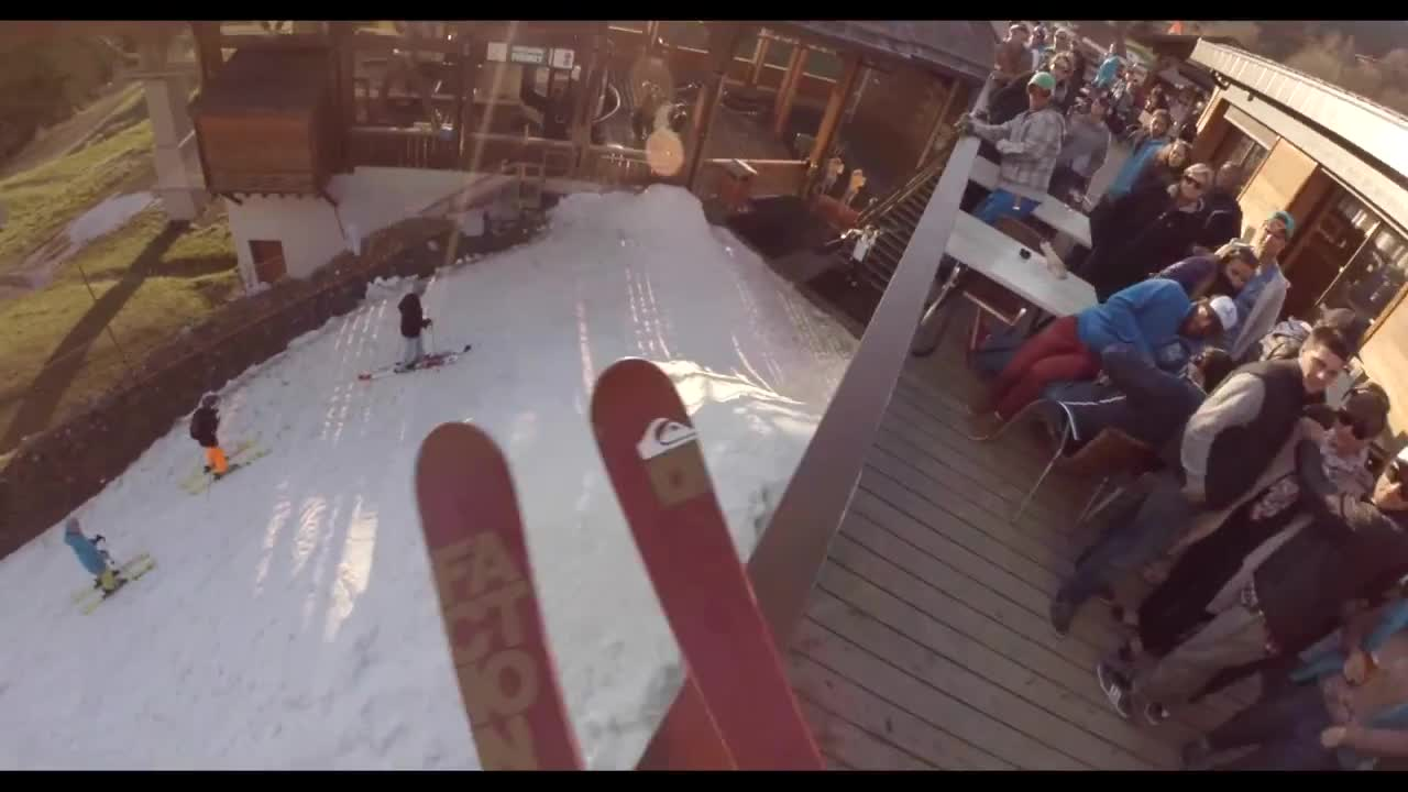 One Of Those Days 2 by Candide Thovex background