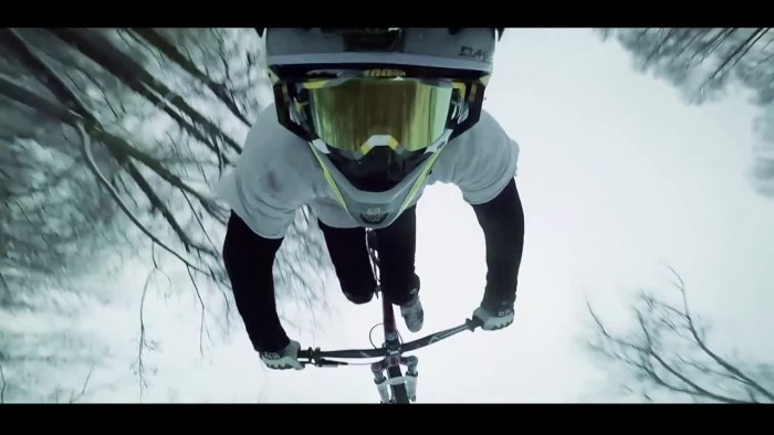 Winter Ride in Slowmotion