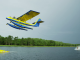 background Barefoot Skiing behind Airplane by Devin SuperTramp