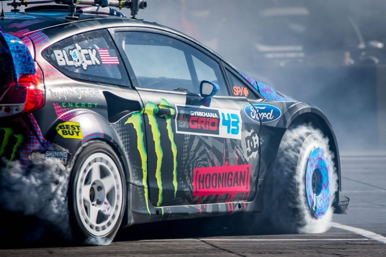 hoonigan : Ken Block's GYMKHANA NINE: Raw Industrial Playground